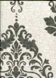 Marcia Wallpaper Hadrian Damask Dove Charcoal 35505 By Holden Decor For Options